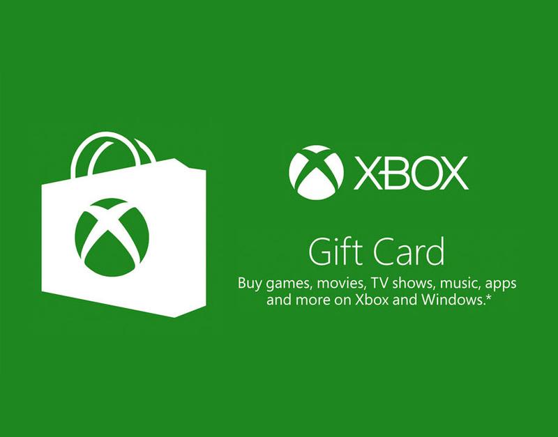 Xbox Live Gift Card, Core of a Game, coreofagame.com
