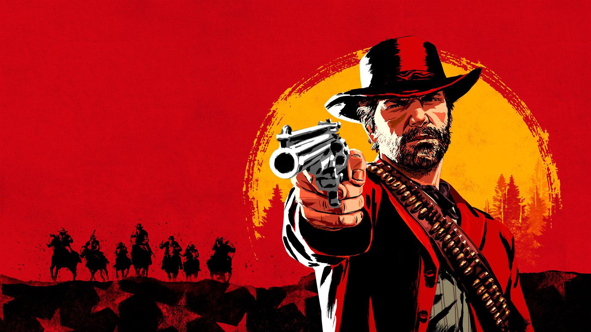 Red Dead Redemption 2 Banner, Core of a Game, coreofagame.com